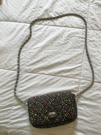 Victoria's secret floral leather crossbody bag