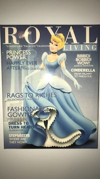 Disney Princess Cinderella: Royal Living Magazine Cover Picture Wall Hanging Brookeville, 20833