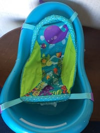 baby's blue and green bather Concord, 24538