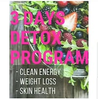 3 day Detox program  Reston, 20194