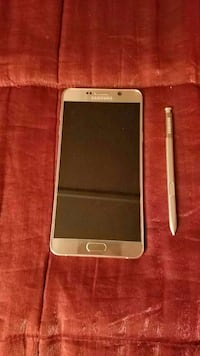 Samsung Note 5 with stylus Gold AT&T