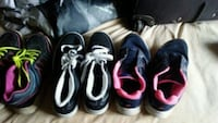 5 pair of shoes size 7 Clarksville, 37042