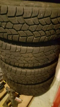 245 75 17 mastercraft tires. Low miles.  New Britain, 06053