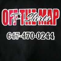 OFF THE MAP CUSTOM T SHIRTS Toronto