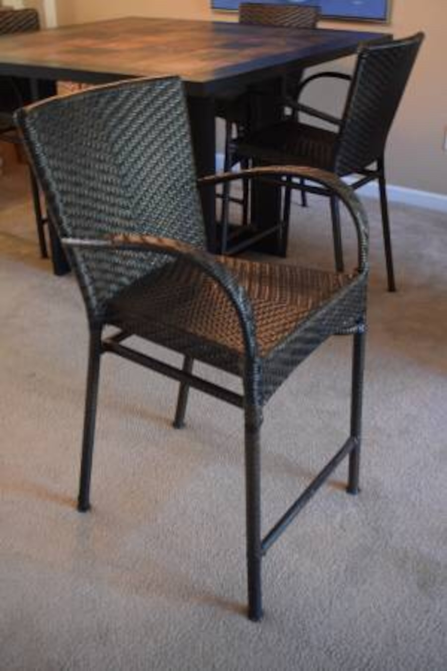 Bar Height Dining Table Chairs In Cary Letgo