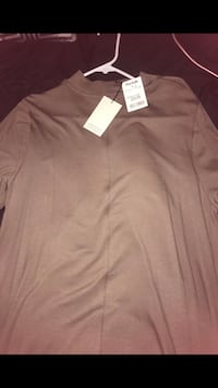 Long sleeve dress (brown) (XL)  Washington, 20019