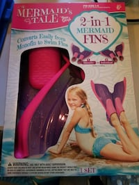 new 2 in 1 mermaid fins Des Moines, 50315