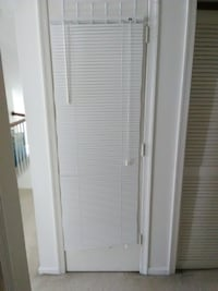 White Mini Blinds (3) - $15