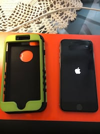 Black iPhone 6 256 g with case Richland Hills, 76118