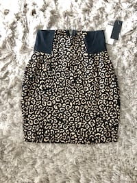 Women's leopard print skirt. New with tags.Size :XS Caledon, L7C 4A6