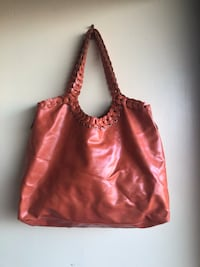 women's brown leather shoulder bag 2386 mi