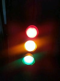 Vintage working traffic light Canton, 44707
