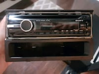 black Pioneer 1-DIN car stereo head unit Richmond Hill