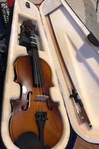 Violin  only one string is missing.but knew.. make me a good offer