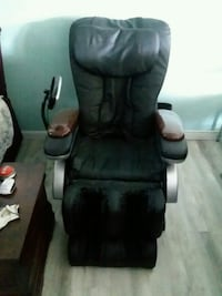 Full body massage chair hardly used. No room for it