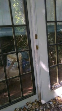 A pait of french doors no fram  Hickory, 28602