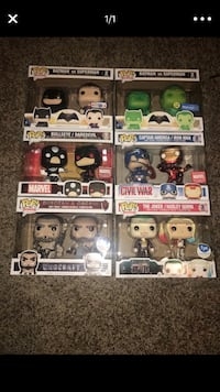 Funko Pop Lot Of 6 2 packs with exclusives Pottstown, 19464