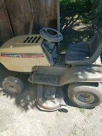 White outdoor riding mower Winchester, 22603