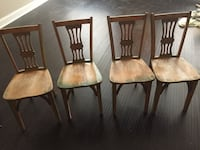 4 very old chairs Baltimore, 21224