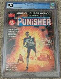 Marvel Super Action #1 CGC 9.2 NM- Early Punisher Comic Magazine