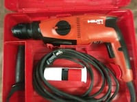 red and black Hilti corded power tool San Mateo, 94402