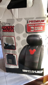 Brand new 3  piece Mickey Mouse seat cover with cargo picket Germantown, 20876