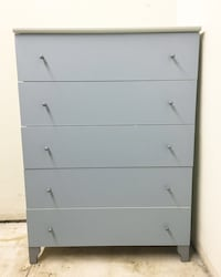 5-DRAWER DRESSER - GRAY (has some small dents) MUST GO TODAY! Los Angeles, 90048