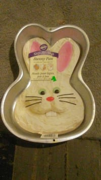 Bunny shaped cake pan