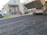 Lawn mowing gravel milling lot cleaning Manassas