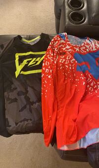Two Motocross riding Jerseys