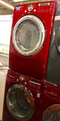 LG front lod washer & gas dryer set in excellent conditons 54 km