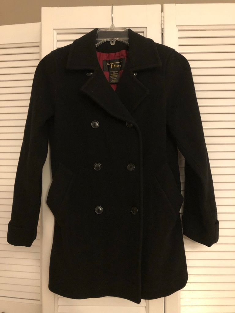 Photo Women's wool pea coat in great condition
