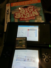 DS Lite with 2 games and charger