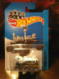 HOT WHEELS MARS ROVER CURIOSITY DIECAST