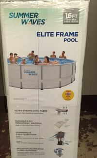 "16' Pool by 48"" Tall New In Box"