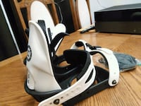 Mercury Liquid Snowboard Bindings size S-M New Condition Whitchurch-Stouffville, L4A 0J5