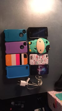 iPhone with cases and charger Bolton, L7E 2Z4