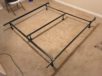 California King Bed Frame with Sealy 2 peice boxspring