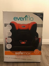 Evenflo Safemax Car seat 3 in 1 - Brand New!