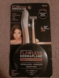 Flawless Facial Exfoliator and Hair Remover Unit 3PK