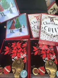 Papyrus Christmas greeting cards or six for $50 great deal that you're getting each one cost $17-$25 apiece I'm asking for $50thank you 31 km