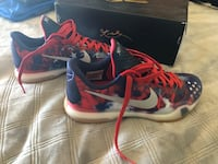 "Kobe 10's ""Independence day""  Los Angeles, 90272"