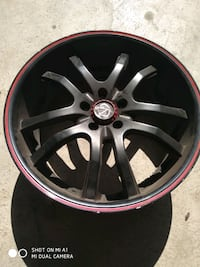"4 Rims 20"" and one tire 245 35 20 Vaughan"