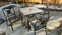 Outdoor furniture table and chairs Arvada, 80003
