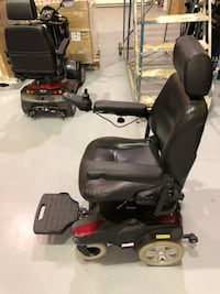 black and red motorized wheelchairs Vaughan, L4K 5X2