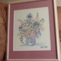 Cross-stitch flower picture Monrovia, 21770