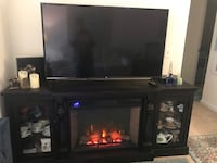 TV and signature TV Stand + fireplace ( all included) Arlington, 22201