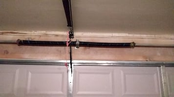 New Garage Door Springs Installed