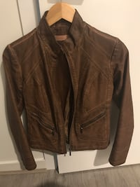 Brown leather size 2  excellent condition Coquitlam, V3B 0M8