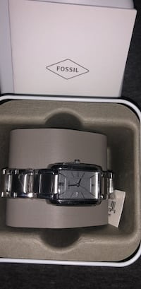 Fossil Silver-Tone Stainless Steel Bracelet Watch Fort Myers, 33965